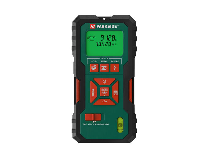 Parkside® Detetor Multifunções com Laser