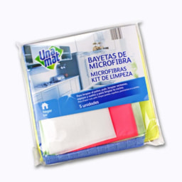 Kit de Panos de Microfibra