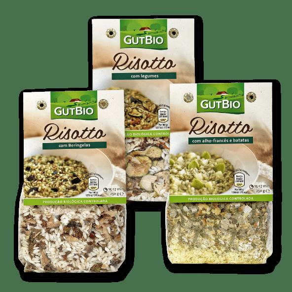 GUT BIO® Risotto com Vegetais Biológicos