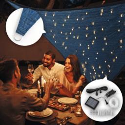 LIGHTZONE® Toldo com Luzes LED