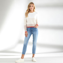 UP2FASHION® Jeans para Senhora