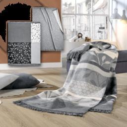 HOME CREATION® Manta com Franjas
