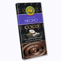 Tablete de Chocolate Negro com Coco