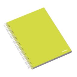 AMBAR® Caderno com Espiral de Capa Dura A4
