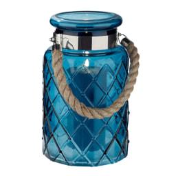 Lanterna Decorativa em Vidro