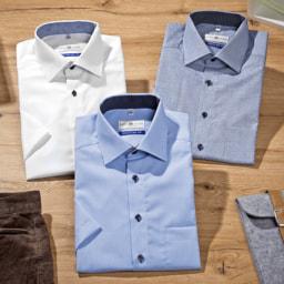 ROYAL CLASS® Camisa de Manga Curta para Homem