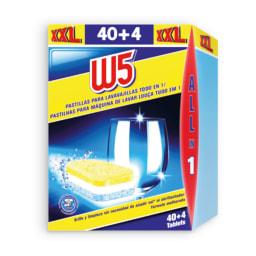 W5® Pastilhas para Máquina de Loiça All-in-1