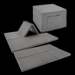 HOME CREATION® Cama para Hóspedes/ Cubo para Sentar
