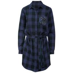 Esmara® Camisa Comprida de Flanela Esmara® Casaco Comprido para Senhora