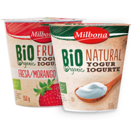 Iogurtes bio selecionados MILBONA®