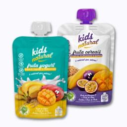 Iogurte com Bolacha/Cereais Kids Natural