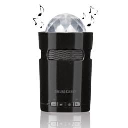 SILVERCREST® Coluna Bluetooth® com Iluminação
