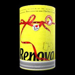 Rolo de Cozinha Red Label Amarelo Renova