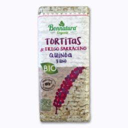 Tortitas de Quinoa e Linhaça Bio