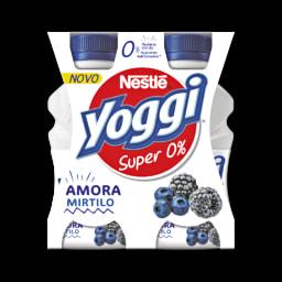 Yoggi Iogurte Líquido Magro Amora e Mirtilo