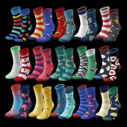 WALKX SOCKS® Meias Coloridas