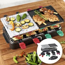 QUIGG® Raclette Elétrica