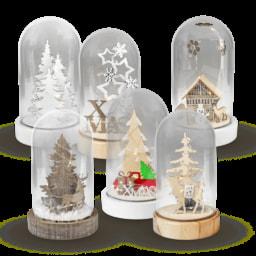 LIGHTZONE® Redoma LED Decorativa