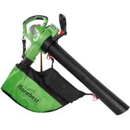 FLORABEST® Aspirador/Soprador Folhas Elétrico 3000 W