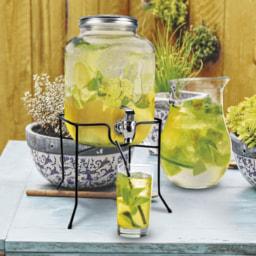 HOME CREATION® Dispensador em Vidro para Bebidas