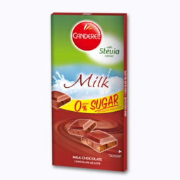 Tablete Chocolate Leite Stevia