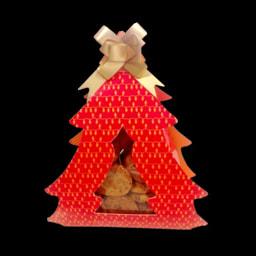 Biscoitos de Natal Passas e Noz