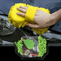 CAR XTRAS® Luva/ Esponja de Limpeza para Carro