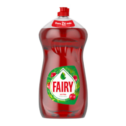 Fairy® Detergente Manual Loiça Ultra Frutos Vermelhos
