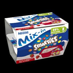Nestlé Iogurte Mix-in Morango com Smarties