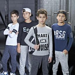 T-shirts Desportivas para Rapaz