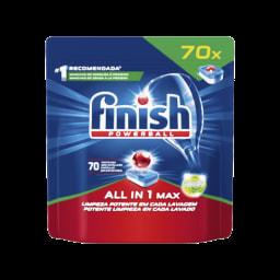Finish Detergente Máquina Loiça All in One Antigordura