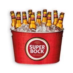 SUPER BOCK® Cerveja Pack Económico + Balde