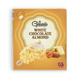 GELATELLI® Gelado Chocolate Branco e Amêndoa