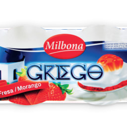 MILBONA® Iogurte Grego de Morango