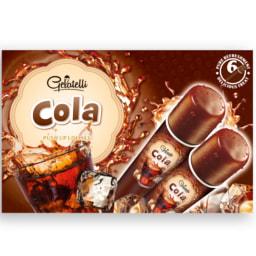 GELATELLI® Gelado Chupa-Chupa Lima-Limão / Morango / Cola