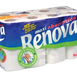 Renova®  Rolo de Cozinha Maxi Absortion 2 Folhas