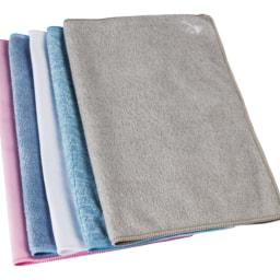 Aquapur® Pano de Limpeza Microfibra 5 Unid.