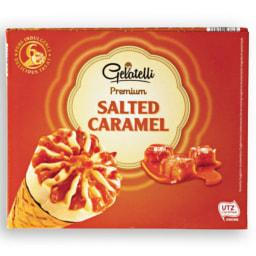 GELATELLI® Gelado Cone Caramelo Salgado