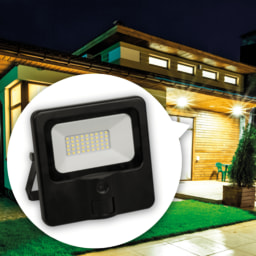 Refletor LED com Câmara
