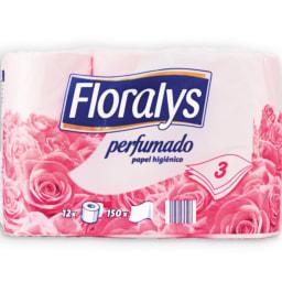 FLORALYS® Papel Higiénico Perfumado 3 Folhas