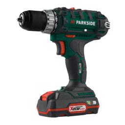 Parkside® Conjunto de Aparafusadora com 2 Bateria 20V 73 Peças