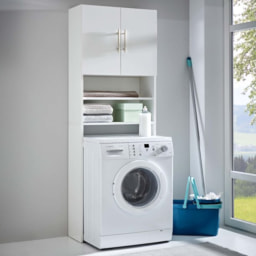 Armário Superior para Máquina de Lavar Roupa
