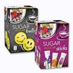 Açúcar em Sticks ou Bolinhas