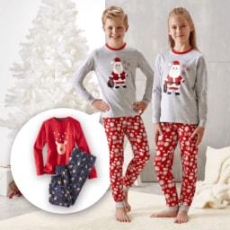 POCOPIANO® Pijama de Natal para Criança