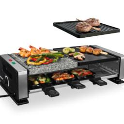 SILVERCREST® KITCHEN TOOLS Grelhador Raclette com Pedra 1400 W