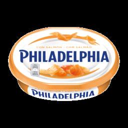 Philadelphia Queijo para Barrar com Salmão