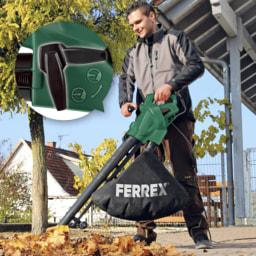 FERREX® Aspirador de Folhas Elétrico