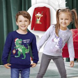 POCOPIANO® Sweatshirt de Natal para Criança