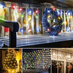 LIGHT ZONE® Cortina/ Rede de Luzes LED