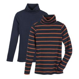 ESMARA® Camisola de Gola Alta 2 Unid.